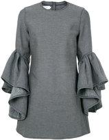 Marques Almeida Marques'almeida frill sleeves dress