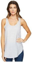 Heather Silk Scoop Tank Top Women's Sleeveless