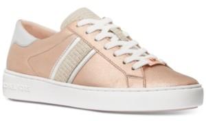 Michael Kors Michael Keaton Side-Striped Lace Up Sneakers Women's Shoes