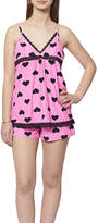 Asstd National Brand Shorts Pajama Set-Juniors