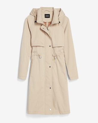 Express Hooded Trench Coat