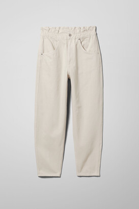 Weekday Fulton Denim Trousers - Beige