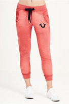 True Religion Raw Edge Womens Sweatpant