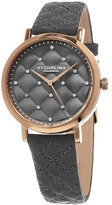 Stuhrling Original Women's Quilted Dress Watch