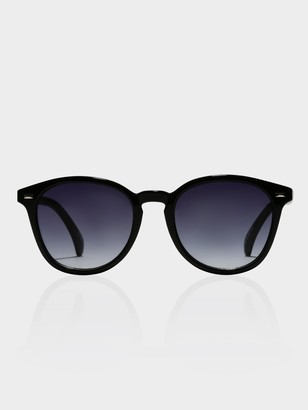 Le Specs Unisex Bandwagon Sunglasses in Black