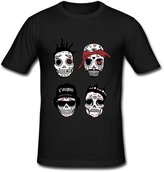 JIUDUIDODO Men's Crew Neck Cotton Eazy-E Singer N.W.A Band T-Shirt XXL