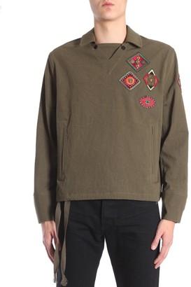Saint Laurent Patch Tunic Shirt