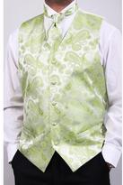 Ferrecci Men's Lime Four-piece Vest Set