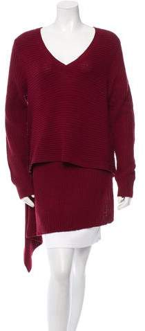 Derek Lam Cashmere Asymmetrical Sweater w/ Tags