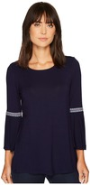 Wrangler Western Knit Fashion Shirt Women's Clothing