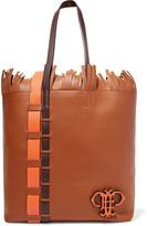 Emilio Pucci Fringed leather tote