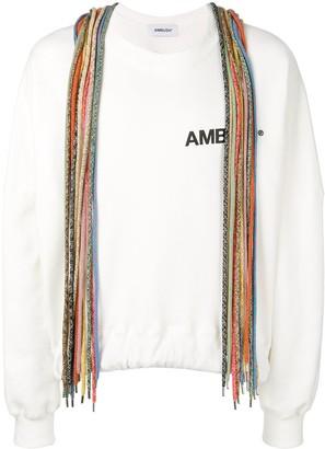 Ambush Lace Detail Sweatshirt