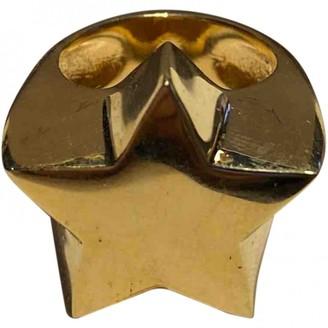Stella McCartney Gold Metal Rings