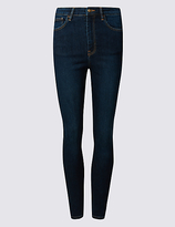 M&S Collection PETITE High Waist Skinny Leg Jeans