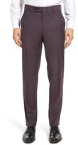 Ted Baker Men's Jerome Flat Front Solid Wool & Cotton Trousers