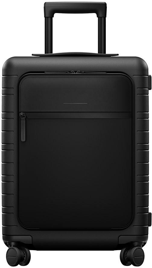 Horizn Studios M5 Smart Hard Shell Cabin Suitcase - All Black