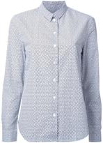 MAISON KITSUNÉ clover print shirt - women - Cotton - 36
