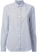 MAISON KITSUNÉ clover print shirt