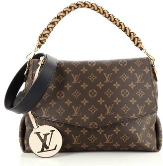 Louis Vuitton Braided Handle Beaubourg Handbag Monogram Canvas MM