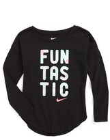 Nike Girl's Funtastic Modern Graphic Tee