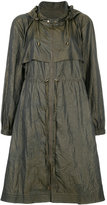 Jil Sander Navy light-weight parka coat