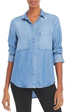 Bella Dahl Button Front Chambray Shirt
