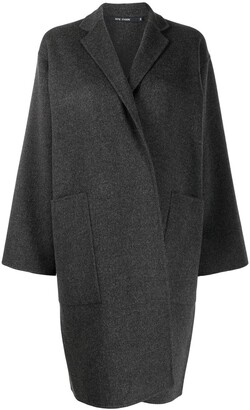 Sofie D'hoore wrap-style single-breasted coat