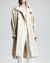 The Row Stretch-Cotton Trenchcoat