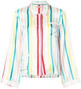 Morgan Lane striped pyjama shirt