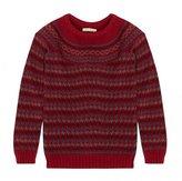 Barbour Tally Fairisle Yoke Knit Sweater