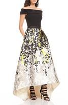 Theia Women's Off The Shoulder Ballgown