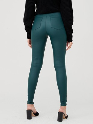 Very Coated Jegging - Dark Green