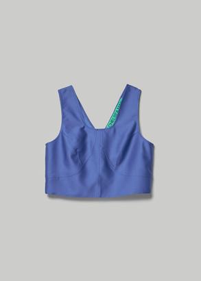 Lapis Chelsea Mak Women's Rebecca Square Nk Silk Top in Size Small