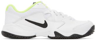 Nike White and Black NikeCourt Lite 2 Sneakers
