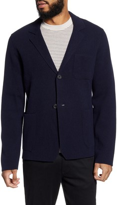 Vince Slim Fit Sweater Knit Sport Coat