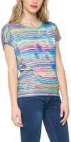 Desigual Women's Knitted T-Shirt Short Sleeve 54