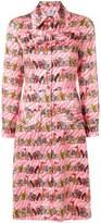 Ultràchic animal print shirt dress