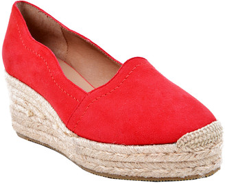 Bettye Muller Concept Reese Suede Espadrille Wedge