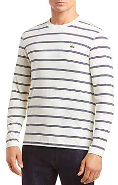 Lacoste Long-Sleeve Striped Tee - 100% Exclusive