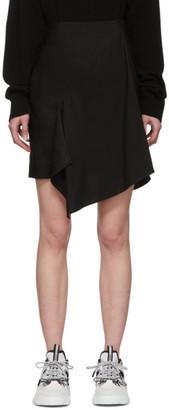 McQ Black Asymetrical Komari Skirt