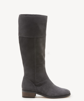 Sole Society Women's Carlie Tall Boots Iron Size 9 Suede From