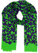 Marc Jacobs Printed Cashmere Scarf