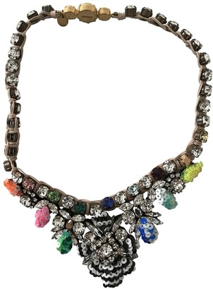 Shourouk Multicolour Crystal Necklaces