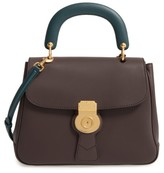 Burberry Dk88 Leather Satchel - Brown