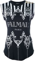 Balmain logo T-shirt - women - Cotton - 38