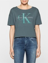 Calvin Klein Teca Cropped Logo T-Shirt