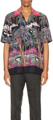Sacai Printed Shirt in Multi | FWRD