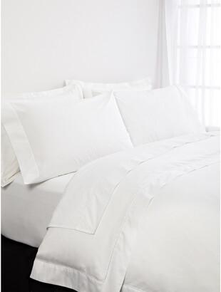 Frette Lux Percale White Duvet