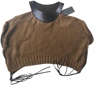 Alberta Ferretti Brown Linen Knitwear for Women