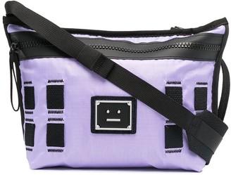 Acne Studios Logo Plaque Crossbody Bag